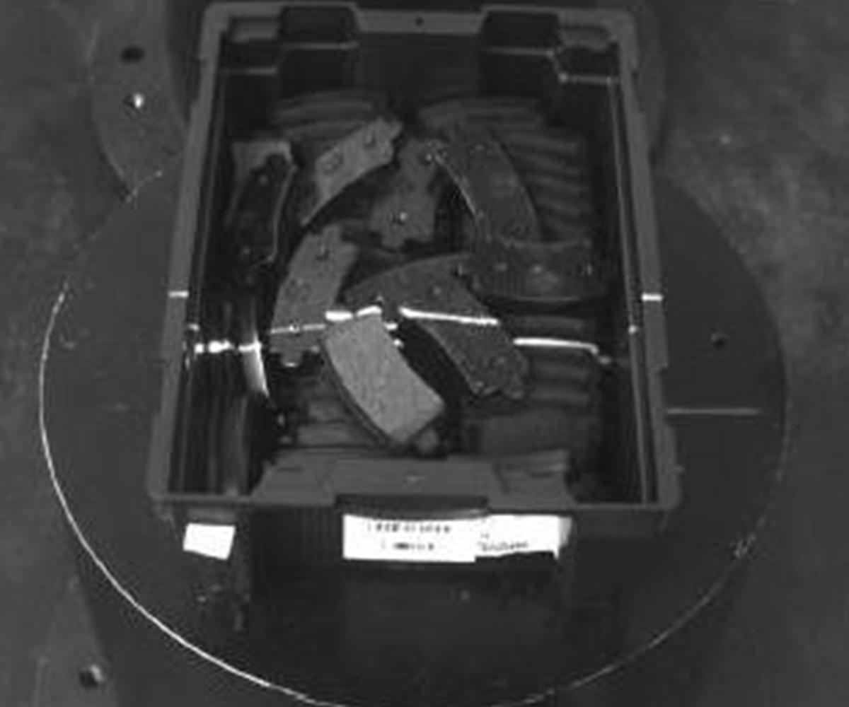 Fig. 4 - Scansione con il laser
