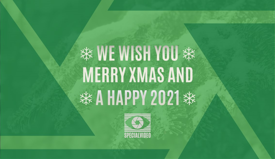 We wish you Merry Xmas and a Happy 2021